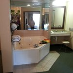 2bdrm suite with Jacuzzi