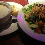 chowder & salad