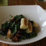 Spinach & mushroom gnocchi