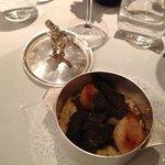 risotto aux St. Jacques et Truffes