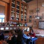 Restaurante 1800 una vista parcial