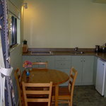 Motel kitchenette