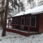 Pioneer Cabin back Porch