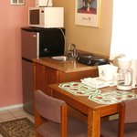 Typical kitchenette this is room 45