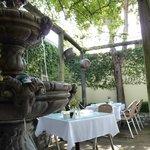 Della Santini courtyard