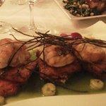 Monk Fish w/ Polenta, etc...