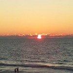 Sun Setting Belleair Beach