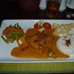 Chicken in Balinese Spices