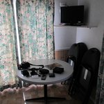 Dining area and digital TV/DVD