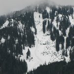 North Cascades typical mountain view