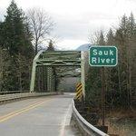 Sauk River crossing