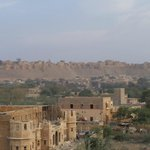 Jaisalmer Fort from rooftop restaurant