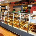 Salivating over the donut display case