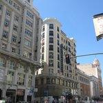 ホテル レジェンテ マドリード外観
