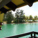 View from overwater villa