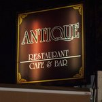 Fantastic Antique Restaurant and beautiful food...
