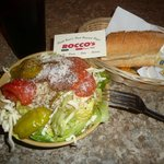 Spaghetti with Meat Sauce, Side Salad and Coke: $17.10-