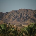The red sea mountains