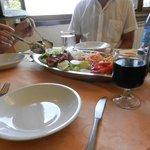 Ein leckerer Mittagssalat