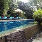 pool/breakfast area
