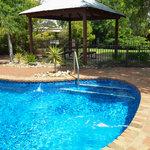 Resort Pool and surroundings