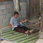 karen hill tribe- weaveing