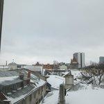 Mañana nevada desde mi habitación