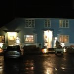 The Tickell Arms at night