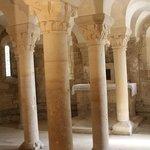 Caen Abbaye aux dames Crypte et ses colonnes trapues