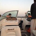 boat ride is fun