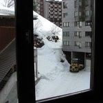 vue de l'appartement