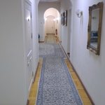 Old corridor to rooms