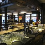 the bar and restaurant at Hotel Helvetia