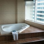 Jacuzzi in our room.