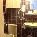 Badezimmer in 70er Style