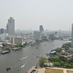 view of Chao Phraya River (from room 2721)