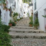 Pretty street in Frigiliana
