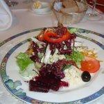 Salatteller bunt, knackig