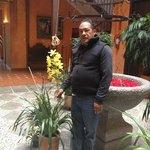 Papá y orquídeas