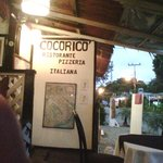 Great pizza place in Cahuita