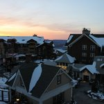 Beautiful Sunset from our balcony overlooking the village.
