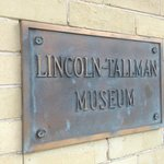 Lincoln-Tallman House Plaque