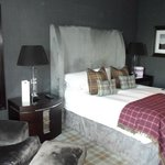 The loch view bedroom