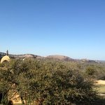 enchanted rock view from hotel