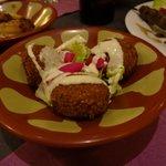 savoureuses boulettes de pois chiche