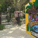 Entrance at Coconuts Bar and Grill
