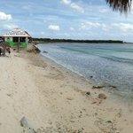 Beautiful beach at Playa Bonita