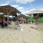 Our group relaxing at Playa Bonita