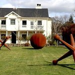 Fun outdoor sculptures