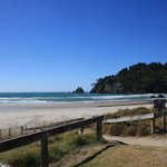 Southern end Whangamata Beach